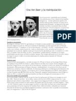 El Abuelo Nazi de Ena Von Baer y la mainipulación genética