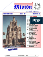 La Mision -Noviembre 2002