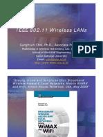 IEEE 802.11 Wireless LANs