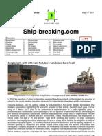 Ship Metal Scrap Report