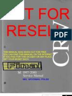 Honda CRV 97-00 Service Manual