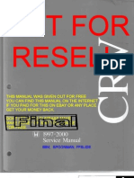 Honda CRV 97-00 Service Manual