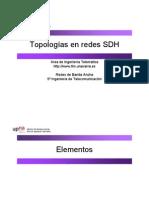 TOPOLOGIA SDH