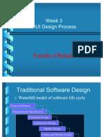 Week 3 - GUI Design