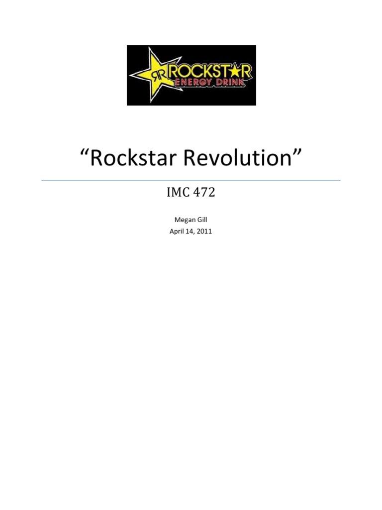 Rockstar Energy Drink Promotional Marketing Plan | Target Audience ...