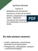 Lipidos, Clasificacion Caracteristicas Generales de Los Acidos Grasos