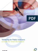 Tendering 4 Public Contracts