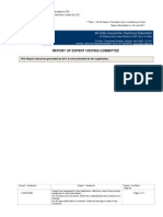 EVC Evaluation Report