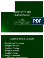 3. Taxonomy and Classification