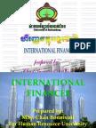 International Finances Prepared by Chan Bonnivoit