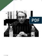 Jacques Ranciere - La democracia es el poder de cualquiera (entrevista)
