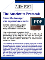 The Teenager who Exposed Auschwitz - Jerusalem Post