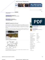 USB FM Transmitter_ PCB Ready Simple FET FM Transmitter Circuit
