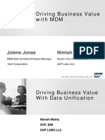 Driving Business Value With MDM
