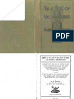ABC of Vacuum Tubes