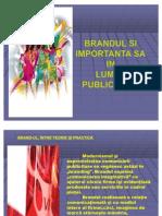 Pr Tema 7 Pr Modificat Brandul Si Important A Sa