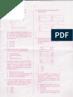 Csir-net June 2011 (Question Paper) Part A