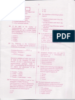 Csir-net June 2011 (Question Paper) Part b