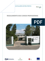 Regulamento Dos Cursos Profissionais 2013/2014