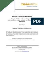 Storage Enclosure Reliability
