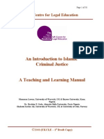 An Introduction to Islamic Criminal Justice
