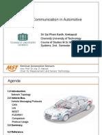 Sensor Communication Auto Motives PPT