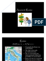 Microsoft Power Point - Ancient Rome
