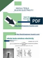 Nikola Tesla Wireless Electricity