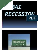 Dubai Recession