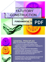 Statutory Construction- Power Point