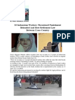 Head Chop Punishment in Saudi Arabia Violated the International's Conference on Human Rights
