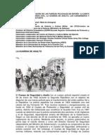 Creación de las fuerzas policiales en España III