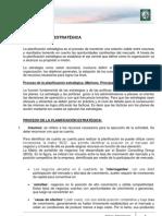 Lectura 3 - La Planificación Estratégica