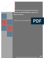 Proposta de actualização da Circular Normativa Nº 06/DSPCS da DGS