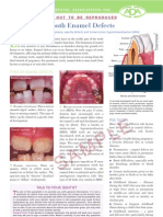 Tooth Enamel Defects