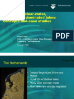 Recovery of clear-water, macrophyte-dominated lakes