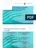 Assessment of Ecological Condition of Dutch Lakes