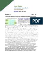 Pa Environment Digest June 27, 2011