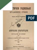 Statisticki Godisnjak Kraljevine Srbije - Peta Knjiga 1900