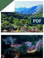 Covadonga, Cangas de Onís en el Principado de Asturias, España