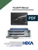Pulse and Pulsefit Manual