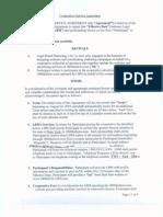 Cooperative Service Agreement