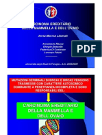 Carcinoma Ereditario Mammella e Ovaio