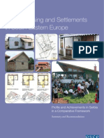 Roma Housing and Settlements in South-Eastern Europe Vladimir Macura and Zlata Vuksanovic-Macura