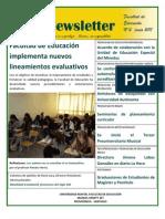 Facultad de Educación, Universidad Mayor Newsletter 2