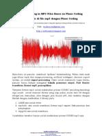 watermarking Teknik Phase Coding Mp3