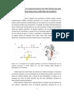 Analise Quantitativa de Proteinas