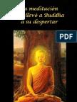 La meditación que llevo a Buddha a su despertar