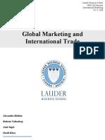 Int Mkt-Final Paper
