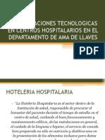 Actualizaciones Tecnologicas en Centros Hospitalarios en El Depart Amen To